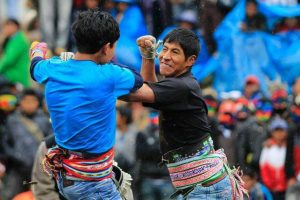 TAKANAKUY, FIGHTS AND JUSTICE IN THE ANDES