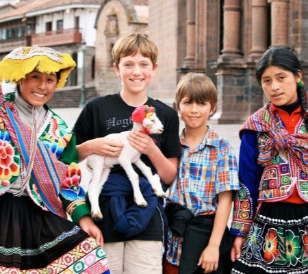 Peru Family Tour Journey Cusco with kids